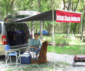 Instant Shade Awning Offers A Portable Retractable That Provides Right Where You Need It Attaches To Any Permanent Structure