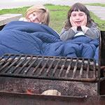 Camping-blanket