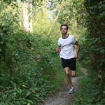 Runner-in-Forest